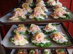 shrimp smorbrod